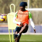 VIDEO: Raphael Dwamena working hard to break into UD Levante team with extra training
