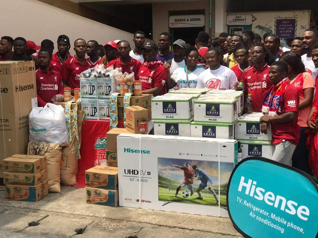 Hisense Ghana lead corporate partners to support Accra Children's Hospital