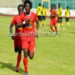 "Saddick Adams advises Kotoko forward Sogne Yacouba to ""keep his cool"" and the goals will come"