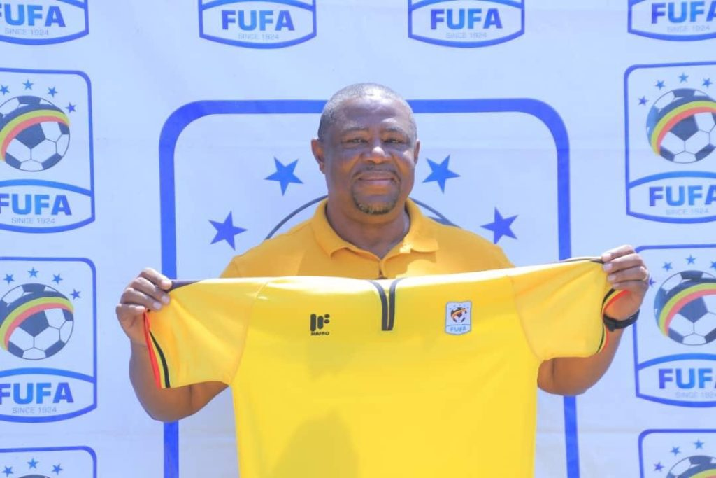 PHOTOS: Uganda unveil Ghanaian Paa Kwesi Fabin as U17 national team coach