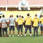PHOTOS: Black Stars hold maiden training ahead of Kenya clash