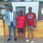 George Afriyie arrives in Zambia to support Kotoko ahead of Zesco clash