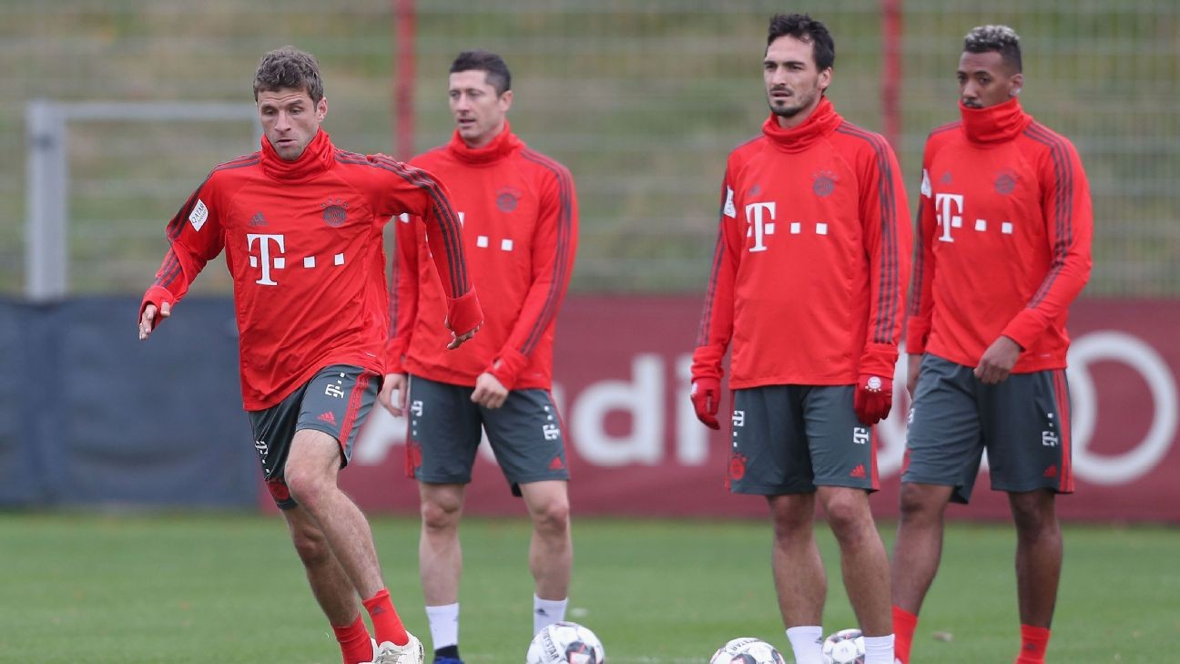 Bayern question 'timing' of Muller, Hummels, Boateng exclusion from Germany squad
