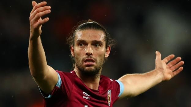 Andy Carroll: West Ham striker may have played last game for club after injury setback