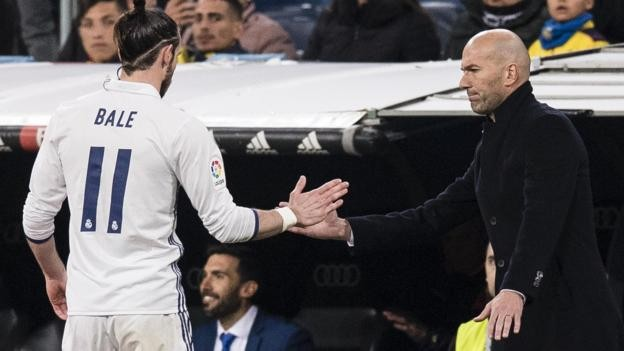 Zinedine Zidane: Returning Real Madrid manager 'counting' on Gareth Bale