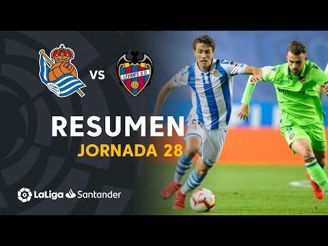 Resumen de Real Sociedad vs Levante UD (1-1)