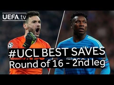 LLORIS, ONANA: #UCL BEST SAVES, Round of 16 2nd leg