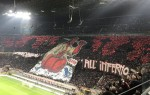 Another stunning Derby choreography from AC Milan fans