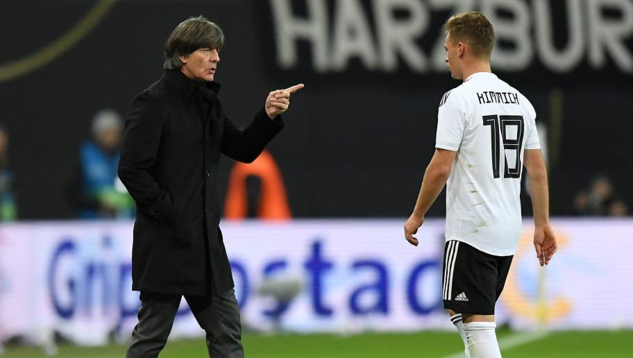 Joachim Low Confirms Position Change for Joshua Kimmich Ahead of Germany Internationals
