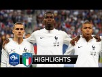France vs Italy 3-1 - All Goals & Extended Highlights - 2018