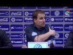 Rueda de prensa de Jagoba Arrasate tras el CD Tenerife vs CA Osasuna (3-2)