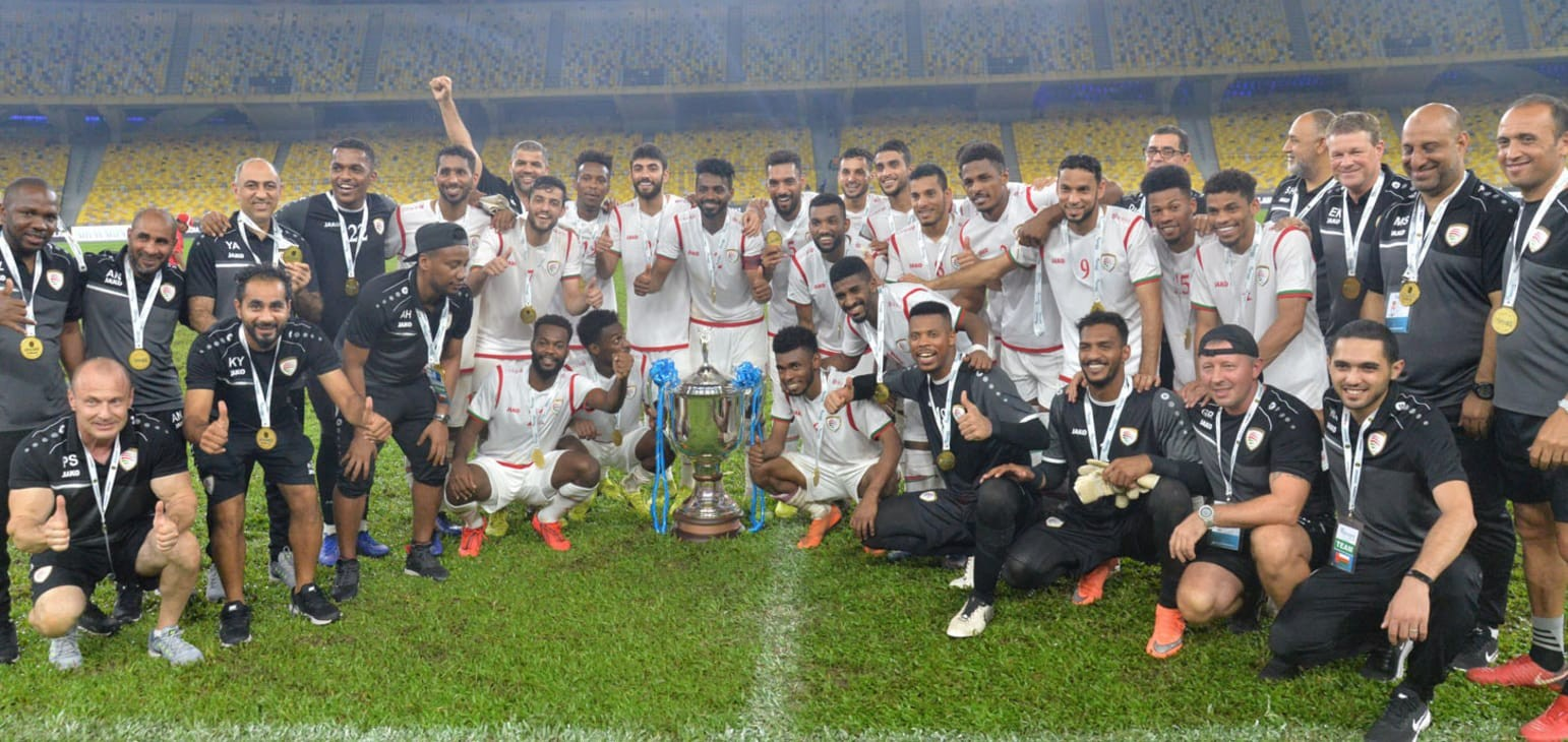 Oman hold nerves to clinch 2019 Airmarine Cup