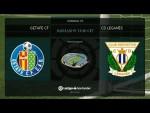 Calentamiento Getafe FC vs CD Leganés