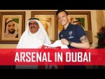 Arsenal visit Zabeel Palace in Dubai | #ArsenalinDubai