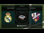 Calentamiento Real Madrid vs SD Huesca