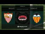 Calentamiento Sevilla FC vs Valencia CF