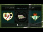 Calentamiento Rayo Vallecano vs Real Betis