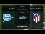 Calentamiento D. Alavés vs Atlético de Madrid