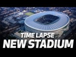SPURS NEW STADIUM | WATCH THE AMAZING TRANSFORMATION FROM BEGINNING TO END