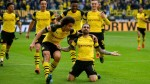 Late Alcacer double sends Dortmund two points clear of Bayern