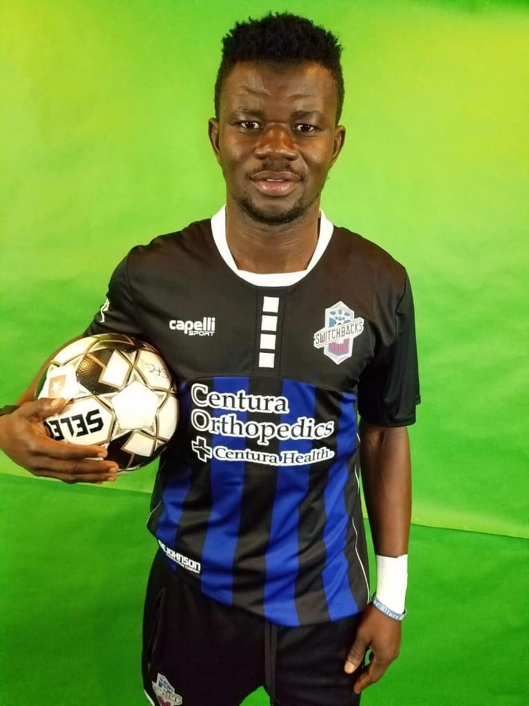 Colorado Switchbacks unveil new Ghanaian signing Kwasi Donsu ahead of new season