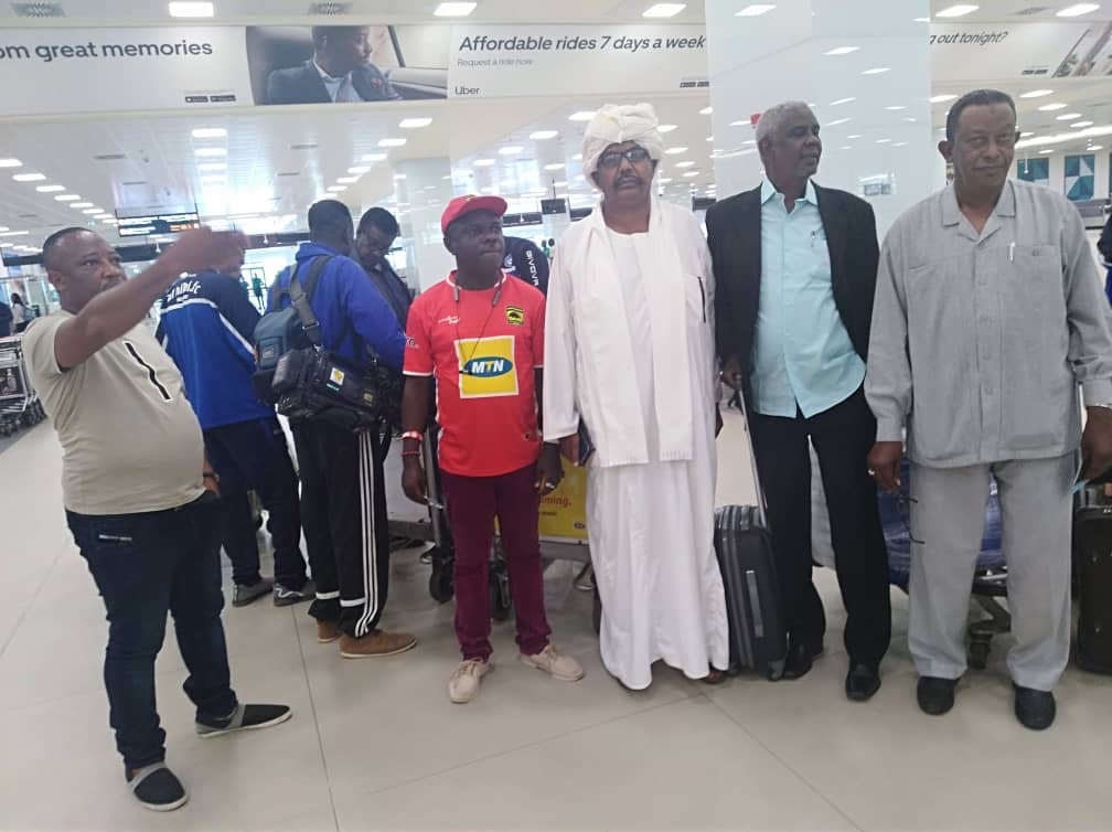 PHOTOS: Sudanese side Al Hilal land in Ghana ahead of Kotoko showdown