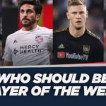 David Accam nominated for MLS Player of the Week
