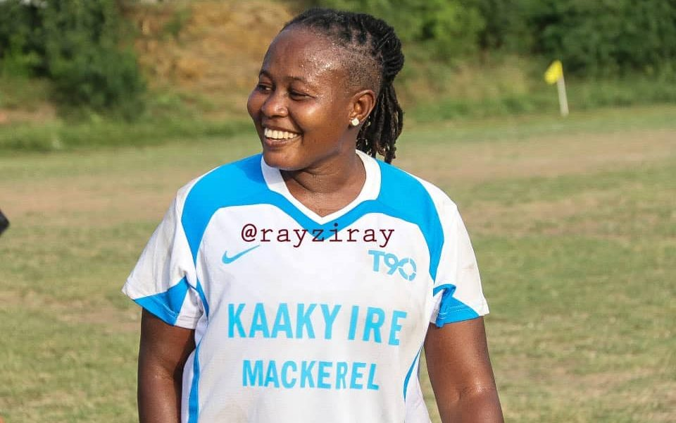 39-year-old ex-Ghana captain Adwoa Bayor returns to the pitch for NC Special competition