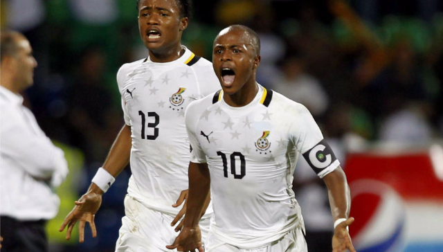 Fenerbahce star Andre Ayew to captain Ghana for Kenya match