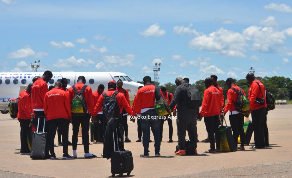 CAF Confederation Cup: Asante Kotoko arrive in Zambia for Zesco clash