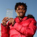 Black Stars forward Christian Atsu receives Cyrille Regis Players Award for philanthropic works