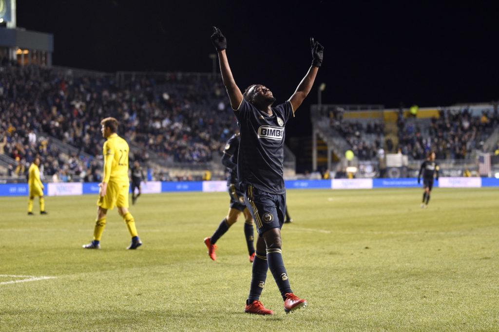 VIDEO: Philadelphia Union brace-hero David Accam dedicates goals to late father