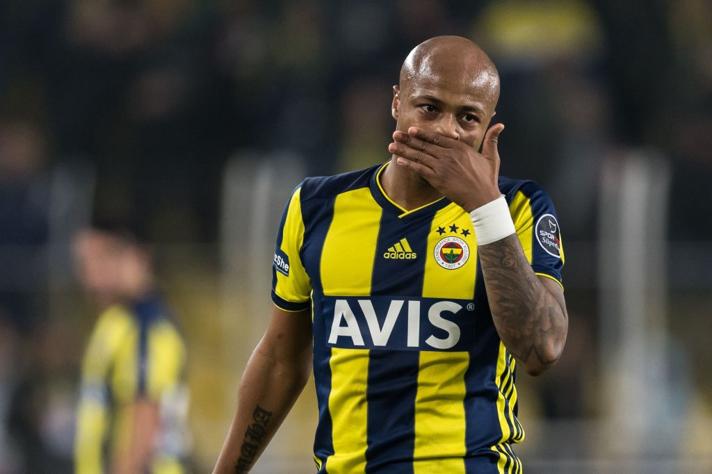 Ghana captain Andre Ayew admits to poor season at Fenerbache