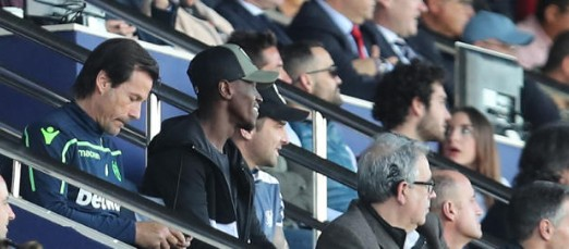 EXCLUSIVE: Emmanuel Boateng returns to Levante to watch Spanish side lose to Villarreal