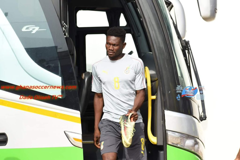 Asante Kotoko trio join Black Stars training hours after returning from Zambia trip