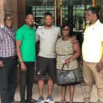 Trabzonspor star Caleb Ekuban meets Ghanaian relatives