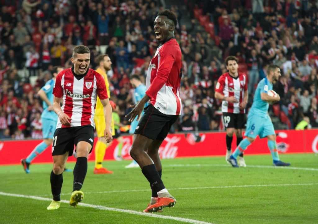 Inaki Williams scores in Athletic Bilbao win over Atlético Madrid in La Liga