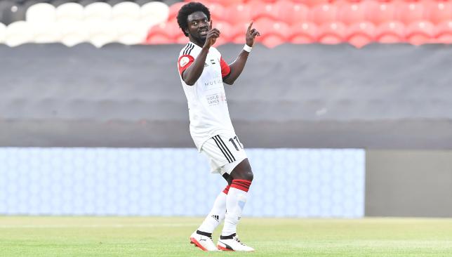 EXCLUSIVE: Ernest Asante signs for UAE club Al-Fujairah after leaving Al-Hazem