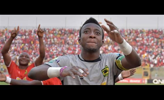 Special Competition: Asante Kotoko goalkeeper Felix Annan content with draw against Bechem United