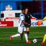 Joel Fameyeh hits target as Dinamo Brest hammer Neman in Belarus