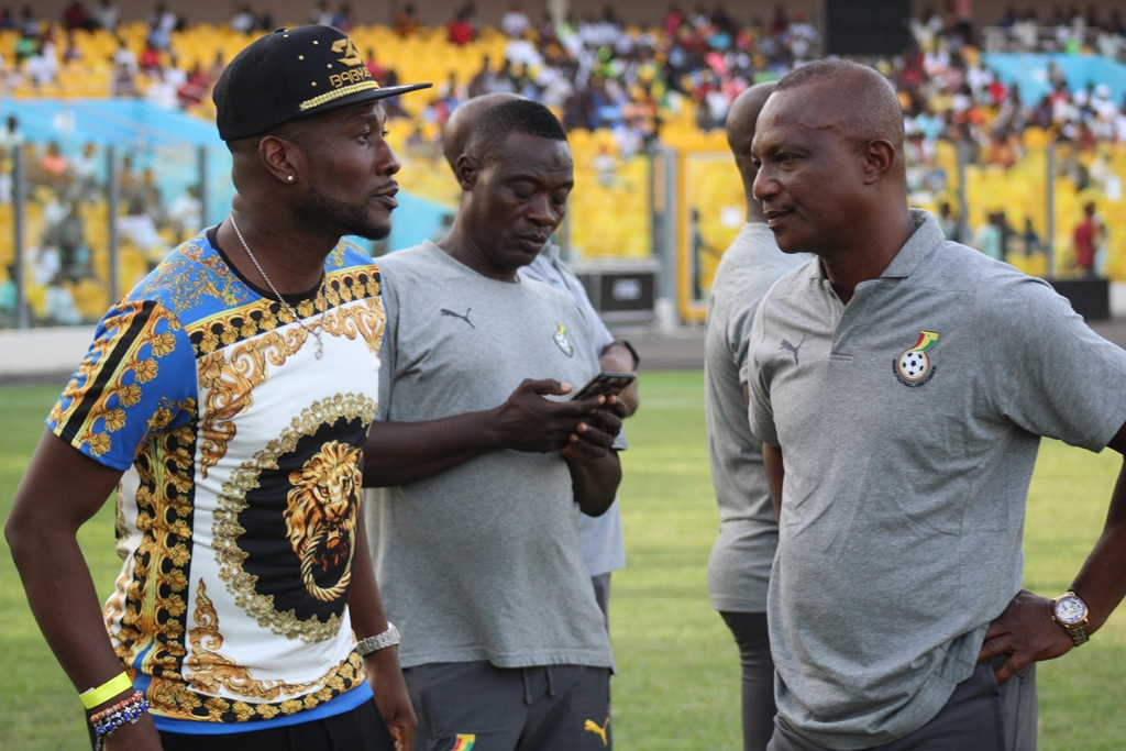 VIDEO: \'Overlooked\' Ghana captain Asamoah Gyan shows up at stadium to support Black Stars for Kenya win