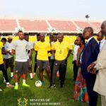 Black Stars management Committee meet players for the first time