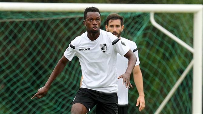Ghanaian midfielder Joseph Amoah eyes European place finish with Victoria Guimaraes in Portugal