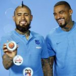 VIDEO: Kevin Prince Boateng and Arturo Vidal used emojis to describe Barcelona teammate