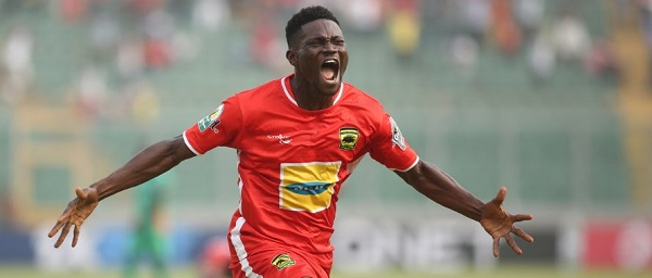 Caf Condeferation Cup: Asante Kotoko midfielder Kwame Bonsu lauds team's character in comfortable win over Nkana FC