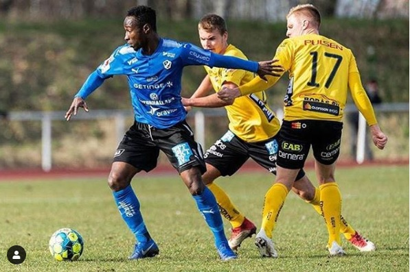 Red-hot Karim Sadat strikes to give Halmstads BK friendly win