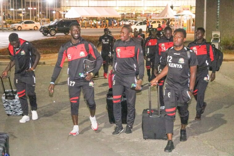 AFCON 2019 qualifier: Kenya depart for table-topping clash against Ghana in Accra