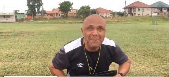 VIDEO: \'I\'m back\'-Hearts of Oak coach Kim Grant mocks media after returning to training