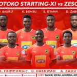 Asante Kotoko coach names strong starting XI to face Zesco; Zabo handed debut start