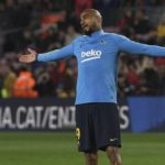 Kevin-Prince Boateng ruled out of Barcelona's final La Liga game of the season